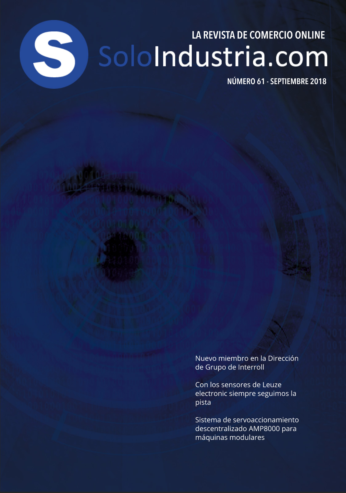Portada Soloindustria | Septiembre 2018