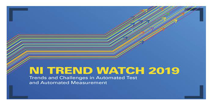 NI Trend Watch 2019  explora el Internet de las cosas, la implementación comercial de 5G y el transporte autónomo para las masas