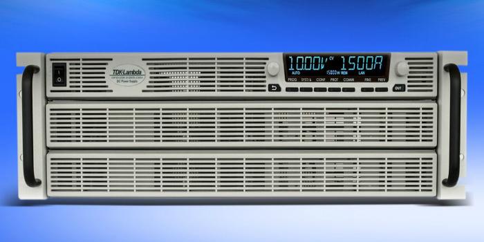 Fuentes de alimentación DC programables de próxima generación de 10 y 15 kW