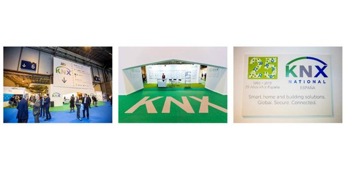 Exitosa participación de KNX España en el certamen Matelec 2018