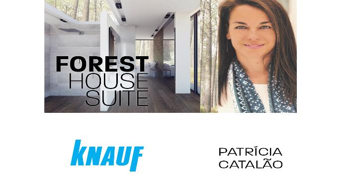 """Patricia Catalão y Knauf colaboran para crear """"Forest House"""" en la Feria Intercasa de Lisboa"""