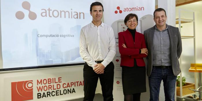 Atomian inicia su internacionalización con la apertura de nuevos mercados y prevé alcanzar los 3,5 millones de euros de facturación en dos años