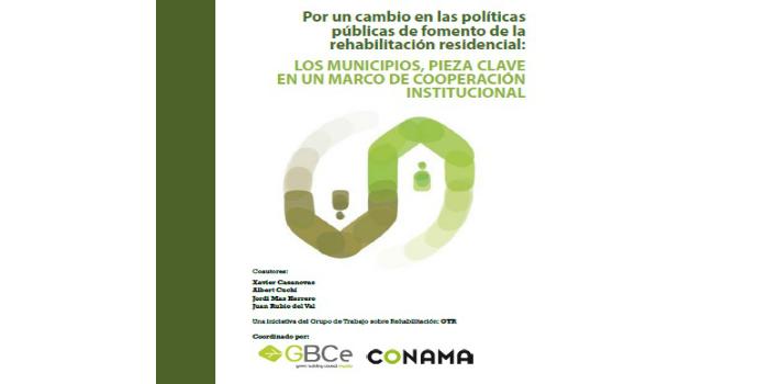 GTR alerta del grave desfase entre los compromisos adquiridos para luchar contra el cambio climático y las cifras de rehabilitación de edificios en España