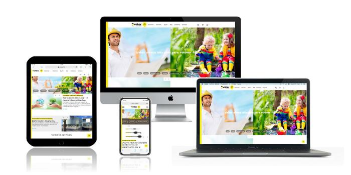 Saint-Gobain Weber presenta su nueva página web