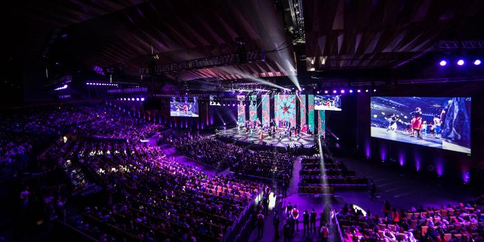 Los polipastos VERLINDE son el centro de las miradas en el Melbourne Convention and Exhibition Centre