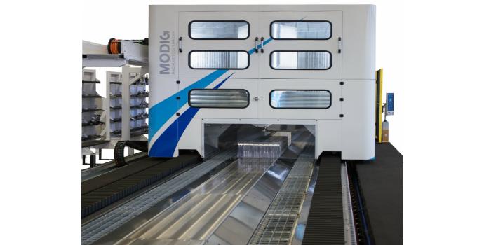 Las unidades de accionamiento lineal de NSK que se utilizan en los centros de fresado de Modig elevan las operaciones de acabado y desbastado a una nueva dimensión