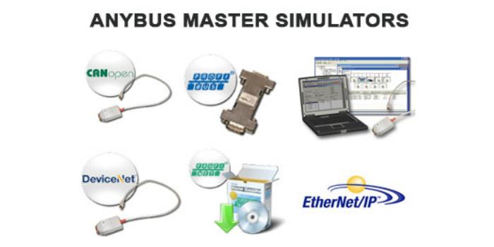 HMS Anybus ofrece una línea de Fieldbus Master Simulators para PC.
