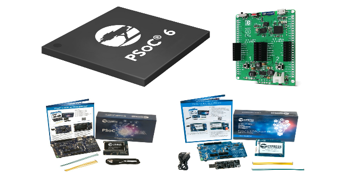 A RS Components disponibiliza microcontroladores PSoCâ 6 de baixo consumo energético da Cypress