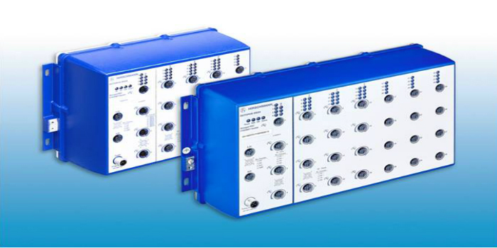 Belden Optimizes Total Power Supply Budget  with Upgraded Managed IP67 PoE Switches