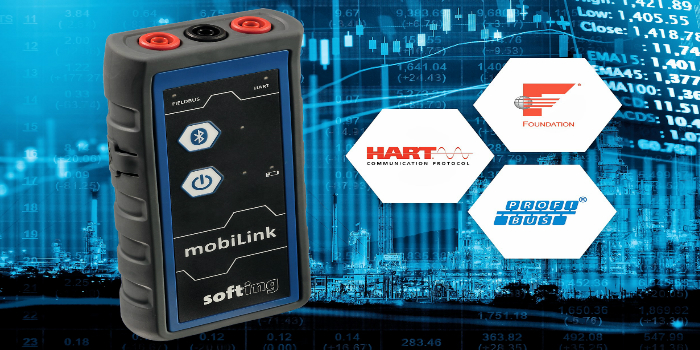 mobiLink: Interface Portátil USB y Bluetooth para Buses de Campo HART / Foundation Fieldbus / Profibus-PA