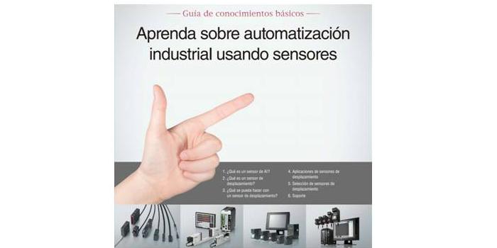 Aprenda sobre automatización industrial usando sensores