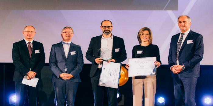 Euro Pool System gana el premio al Proyecto del Año en los prestigiosos Supply Chain Awards