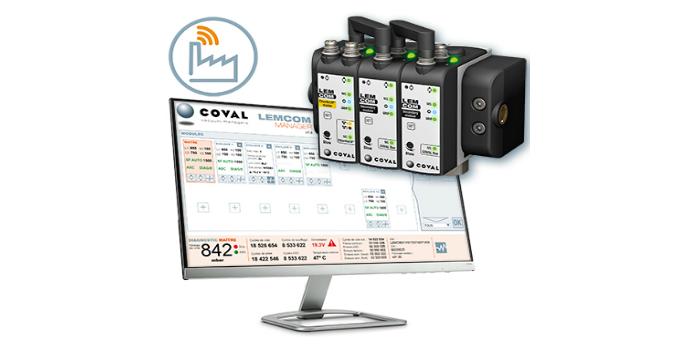 LEMCOM Manager de COVAL: la gestión de vacío simplificada