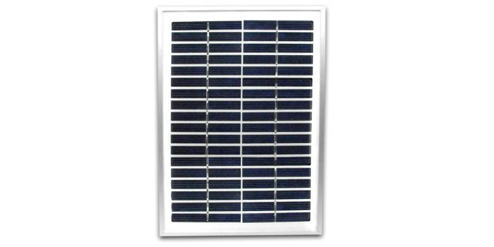 Auto-suficiência elétrica Painel Solar Fadisol 18V./5W.