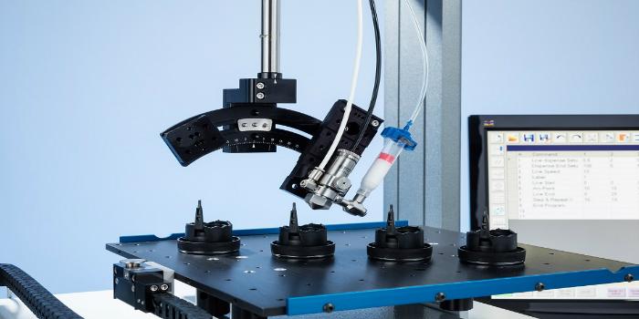 Sistema de dosificación automática de la Serie R con 4 ejes
