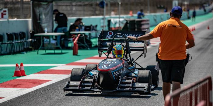 RS Components se vuelca con la Formula Student Spain
