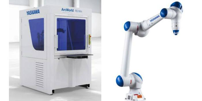 Yaskawa expondrá por primera vez la nueva celda de soldadura compacta ArcWorld Mini en MetalMadrid 2019
