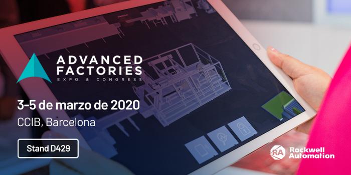 Rockwell Automation mostrará los beneficios de la fabricación inteligente en Advanced Factories 2020