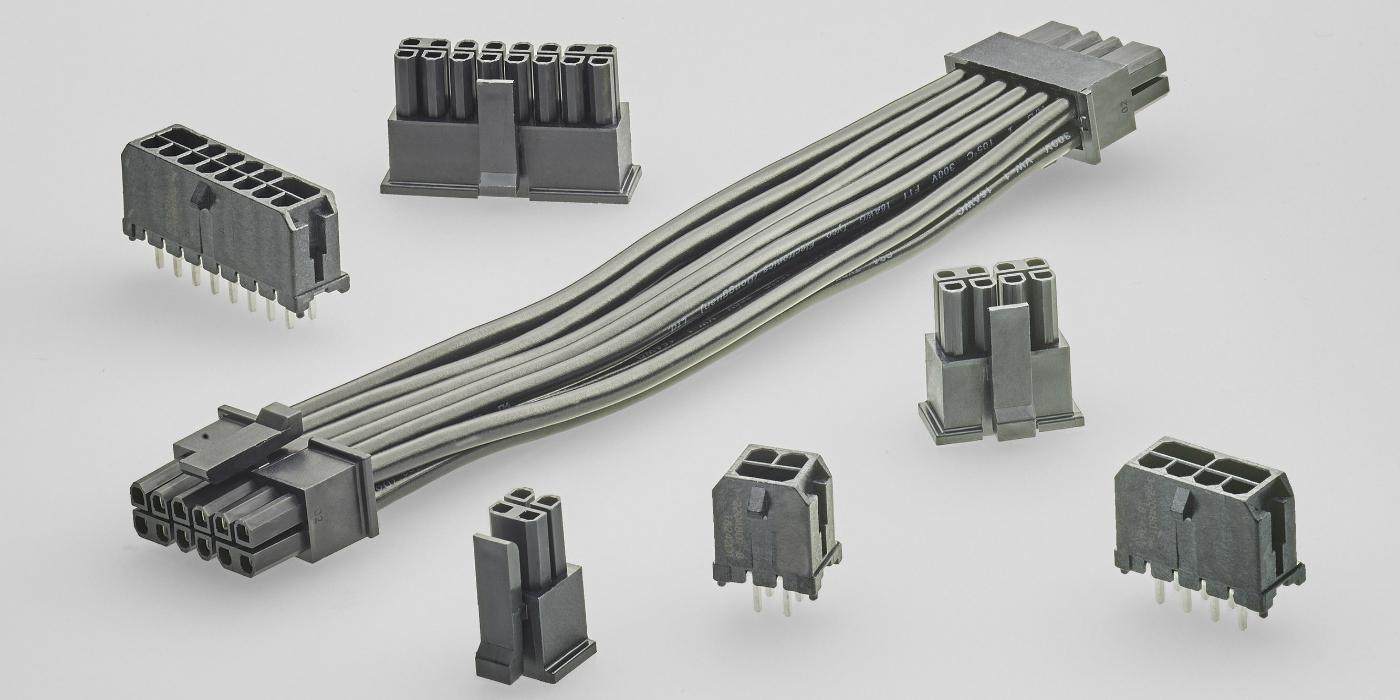Cables y conectores de alimentación WTB para servidores, dispositivos de almacenamiento y equipos de test y medida