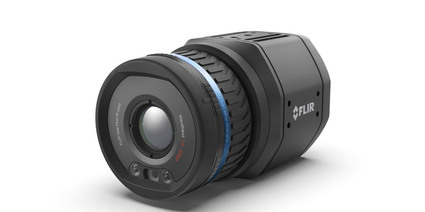 FLIR presenta su primera cámara termográfica conectada no refrigerada de montaje fijo para detectar metano: GF77a