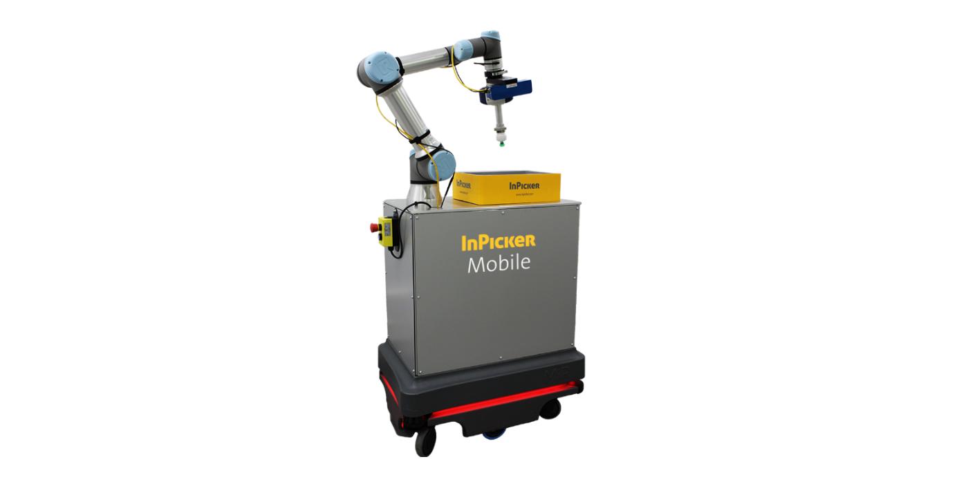 INFAIMON lanza el primer Sistema AGV de Bin Picking del mercado