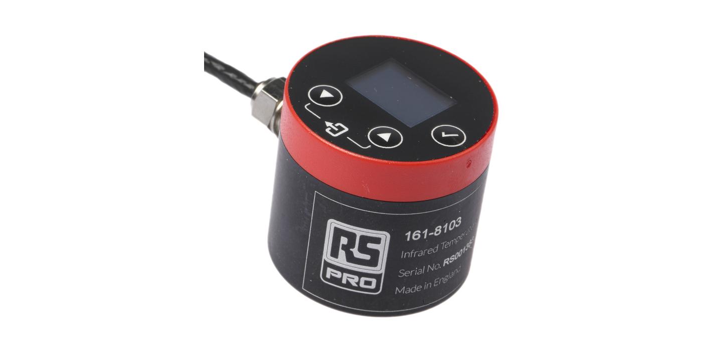 RS Components lanza un sensor de temperatura de infrarrojos de bajo coste y alto rendimiento que cabe en espacios reducidos