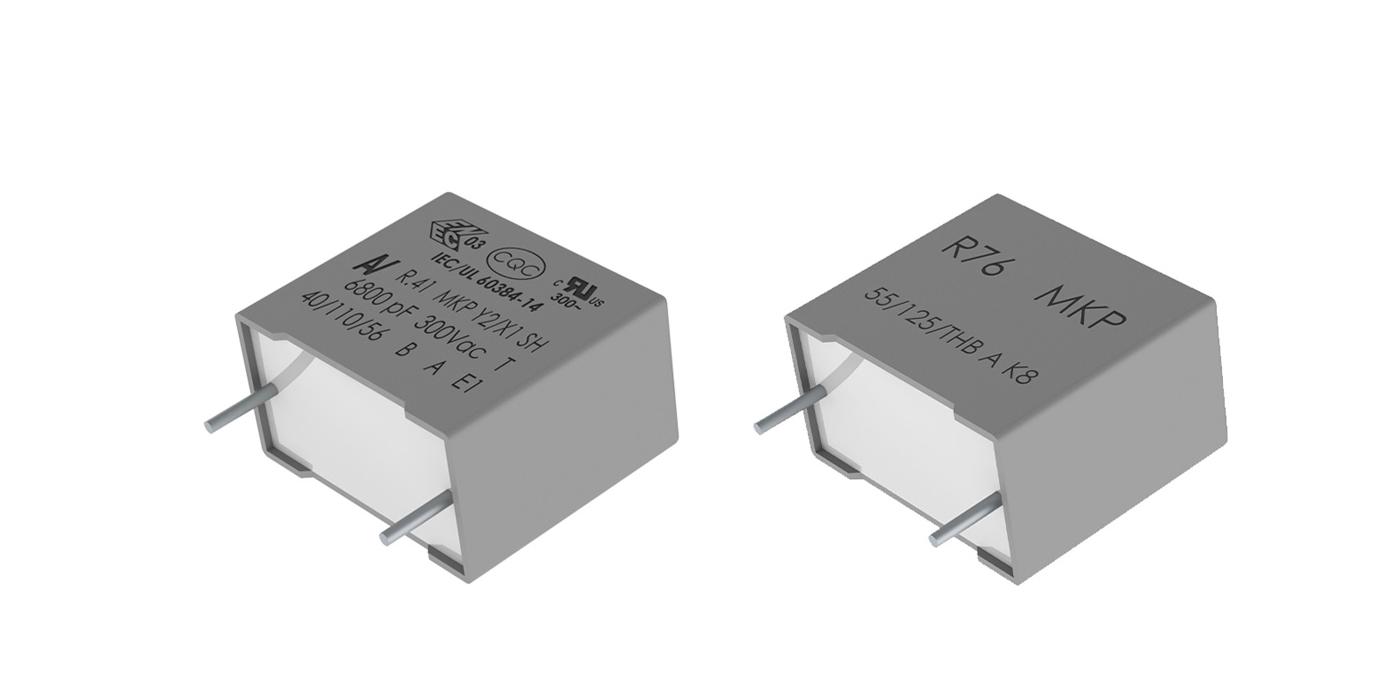 Condensadores de polipropileno metalizado para vehículos eléctricos