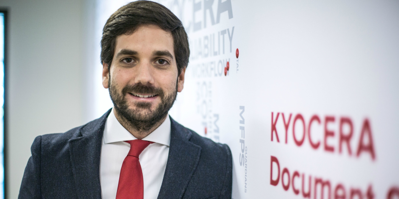 El español, José María Estébanez, nuevo Director de Marketing de Kyocera Document Solutions América