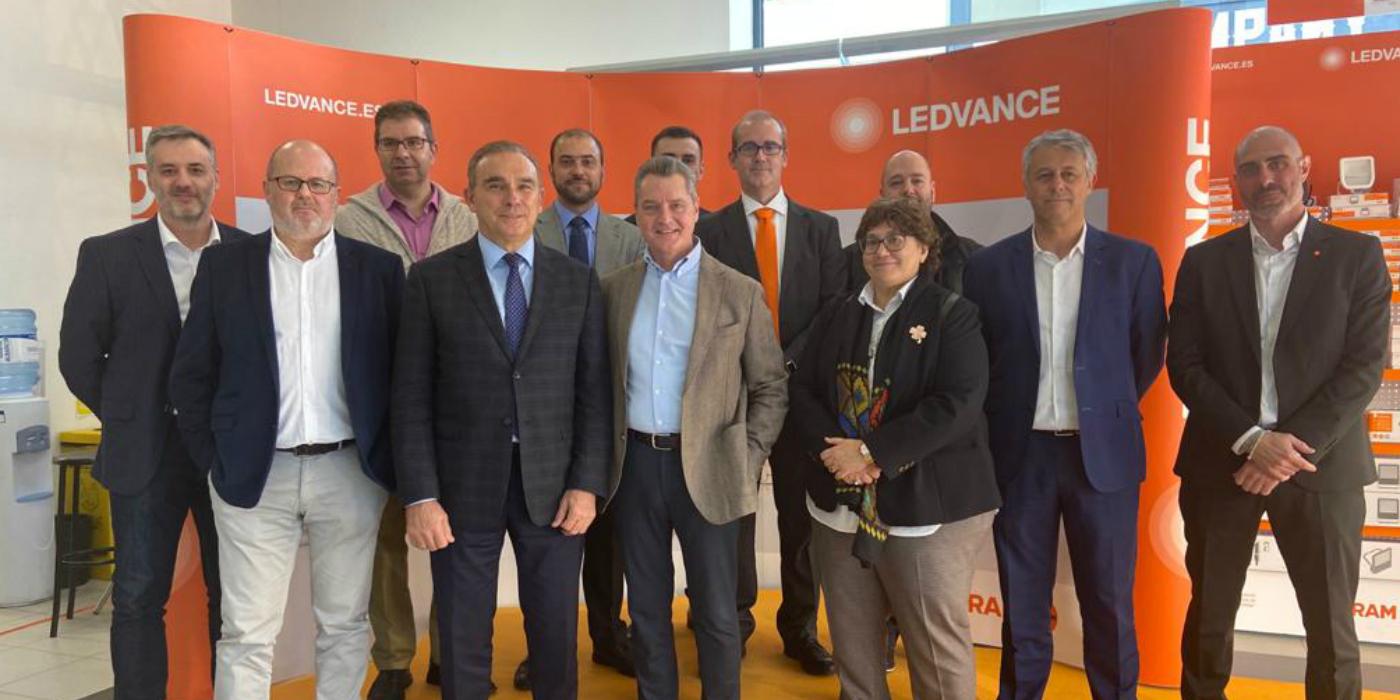 LEDVANCE presenta su nuevo espacio en el punto de venta Rexel Toledo