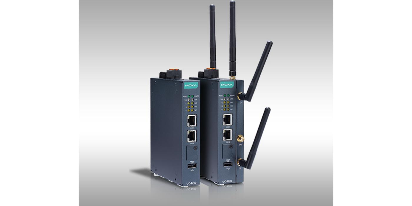 Moxa presenta las robustas puertas de enlace IIoT basadas en Arm dual core con conectividad 4G LTE/Wi-Fi
