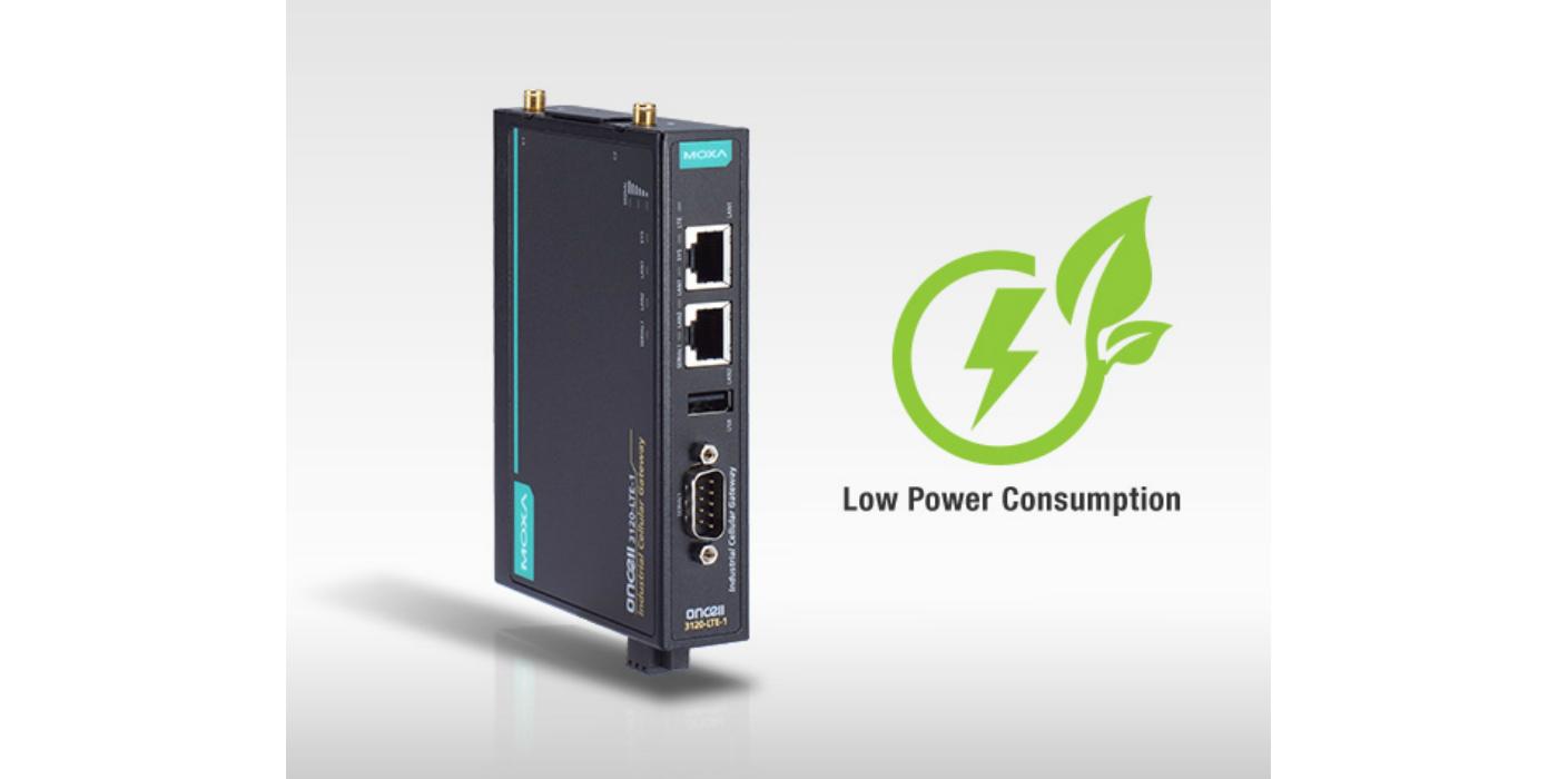 Moxa presenta las puertas de enlace industriales LTE con consumo de energía ultra bajo para conexiones remotas con sus dispositivos