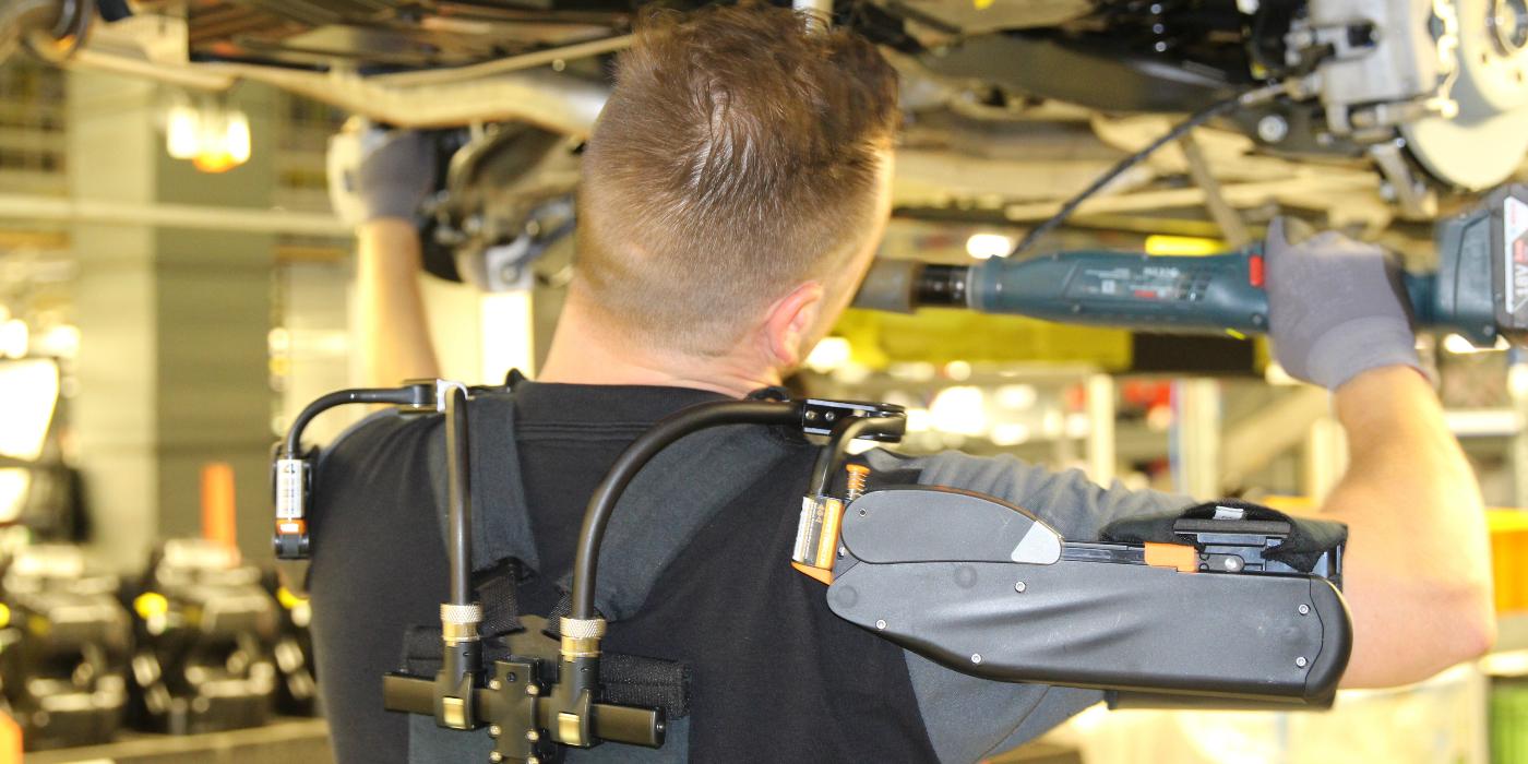 RUBIX suma Los Exoesqueletos a su oferta para mejorar el bienestar de los operarios y reducir lesiones