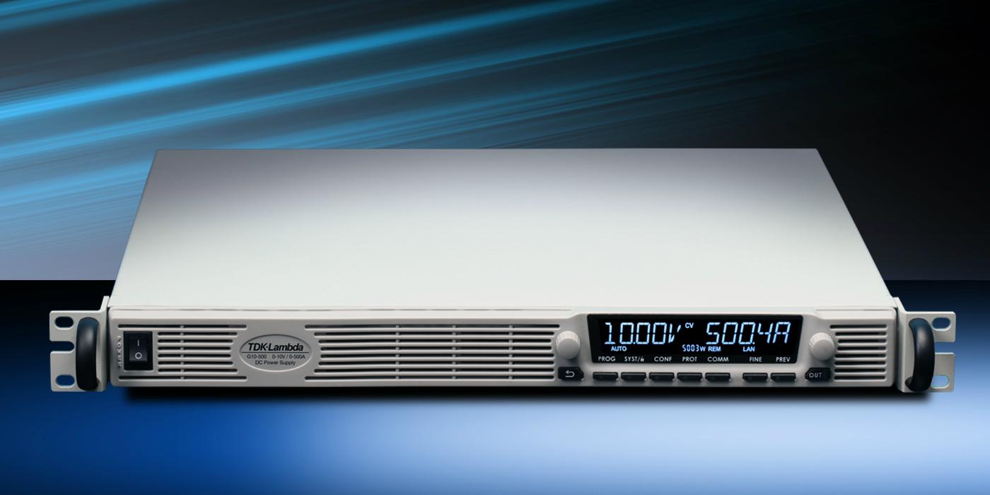 Fuentes de alimentación DC programables con interfaz ModBUS-TCP opcional