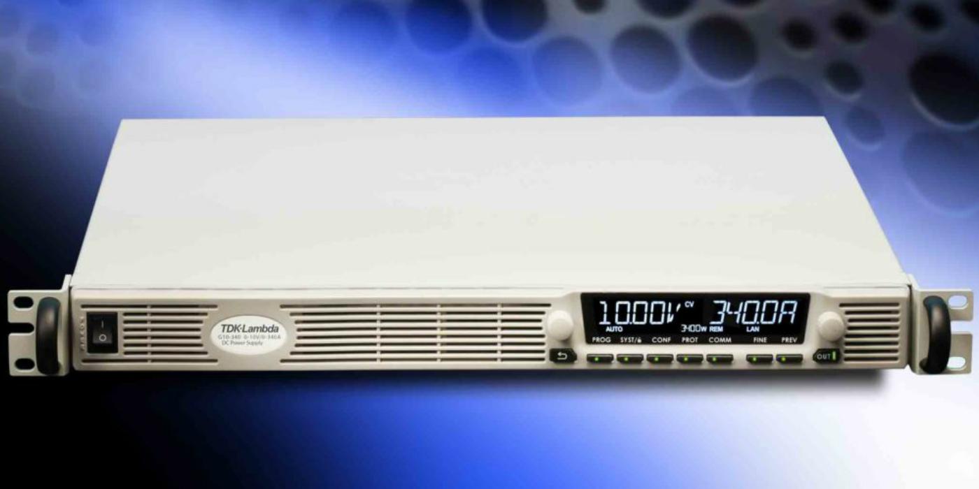 Fuentes de alimentación DC programables con interfaz EtherCAT opcional