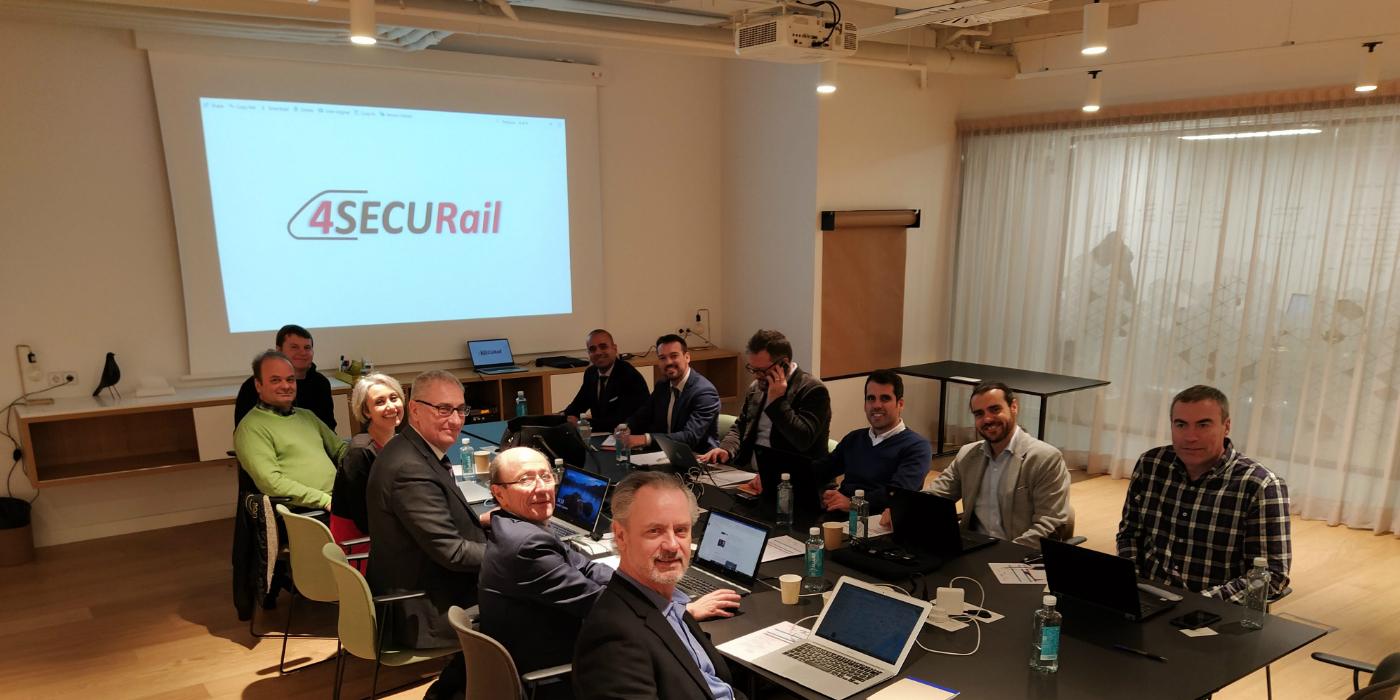 Siete socios desarrollarán el nuevo proyecto '4SECURail' de Shift2Rail para la seguridad y ciberseguridad ferroviaria
