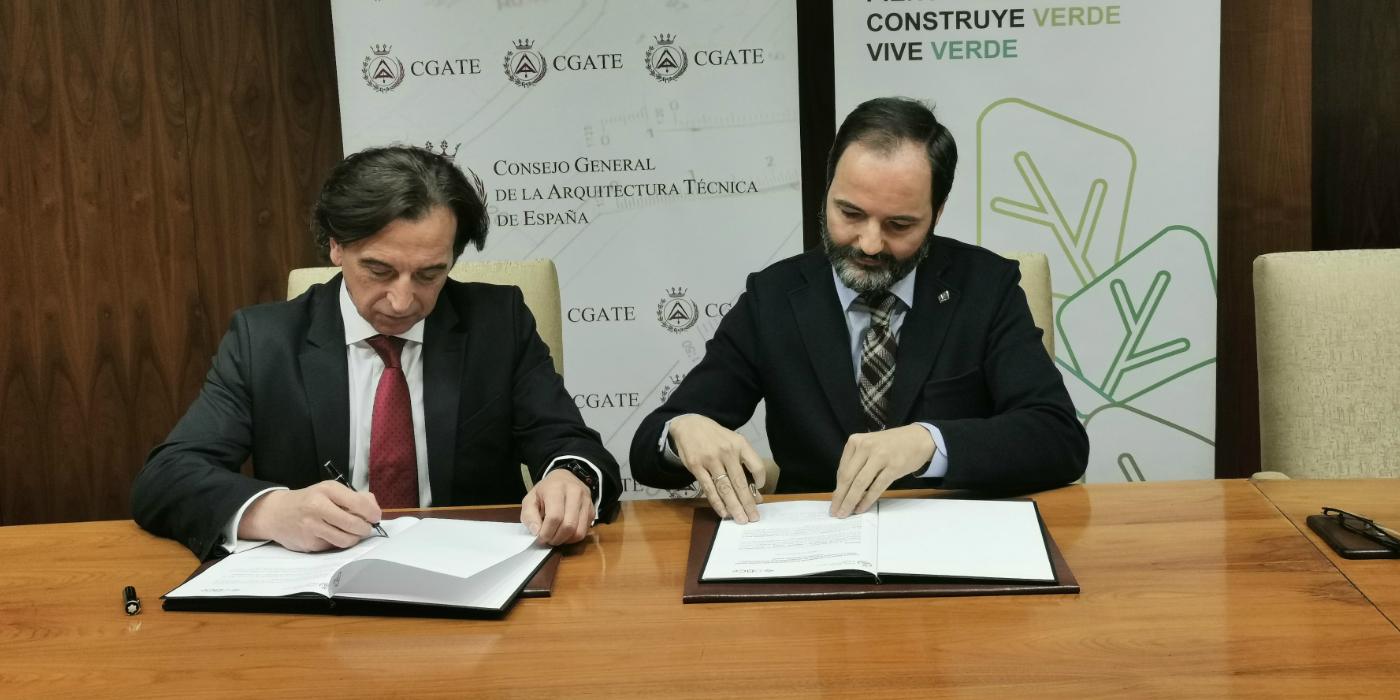 GBCe y el CGATE firman un acuerdo para mejorar la salud y bienestar en los edificios españoles