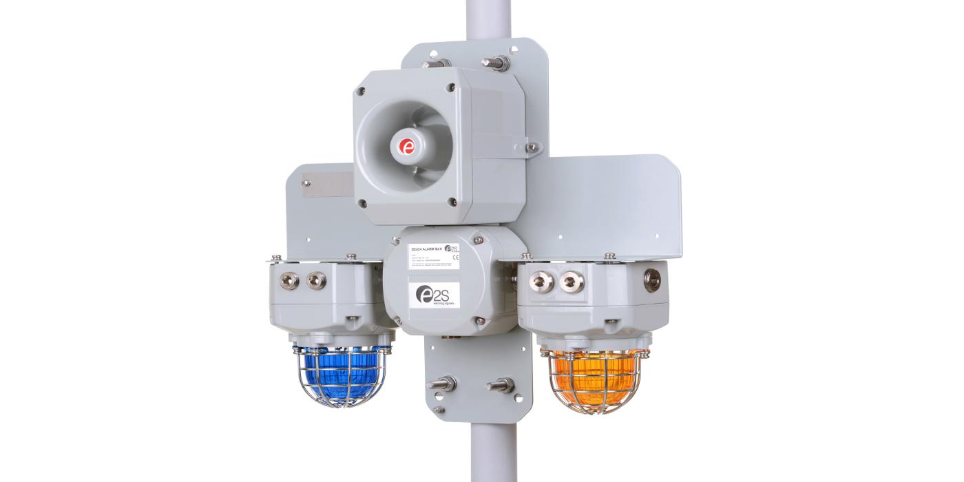 ES2 presenta los conjuntos de dispositivos de advertencia integrados para áreas peligrosas en la OTC 2020