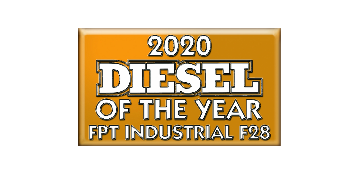 "FPT INDUSTRIAL F28 ""DIESEL OF THE YEAR®"" 2020 DISPLAYED AT CONEXPO SHOW"