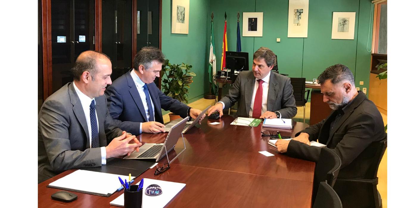 INERCO acuerda con el Secretario General de Industria, Energía y Minas de la Junta de Andalucía impulsar la colaboración con la nueva Unidad Aceleradora de Proyectos de Interés Estratégicos