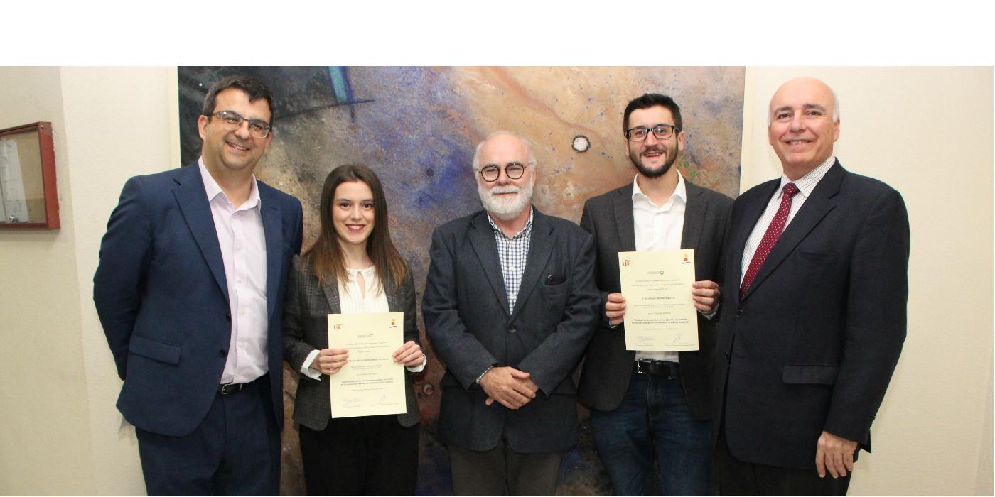 Dos Trabajos Fin de Grado galardonados en la XIII edición de premios de la Cátedra INERCO de la Escuela Técnica Superior de Ingenieros de Sevilla