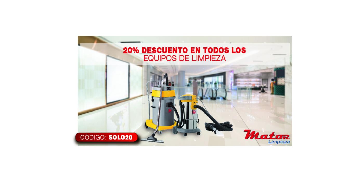Mator ofrece grandes descuentos en productos de limpieza esta temporada.