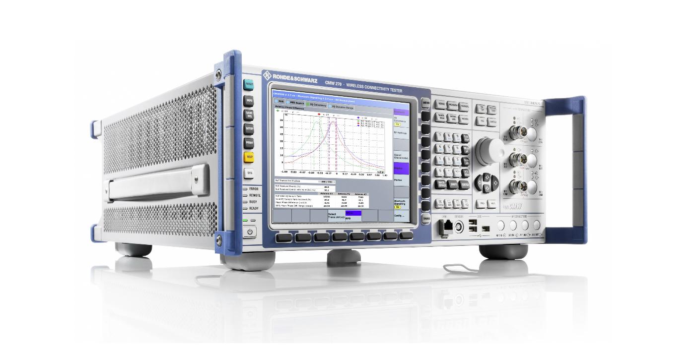 Rohde & Schwarz presenta la nueva generación de soluciones de T&M para Bluetooth® Low Energy hasta la versión 5.2