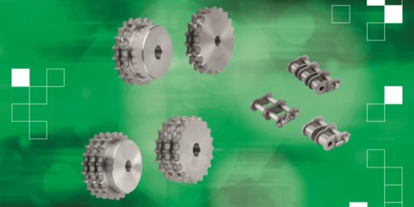 As novas correntes de rolos e coroas da norelem ajudam a aumentar o desempenho de acionamentos de correntes industriais