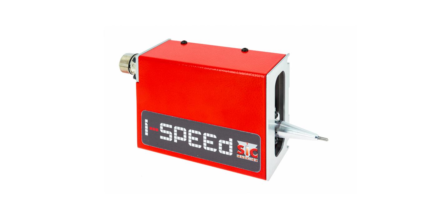 SIC MARKING demuestra una vez más su alta capacidad de innovación con la presentación de un nuevo producto: la máquina de marcaje por puntos integrada i-speed