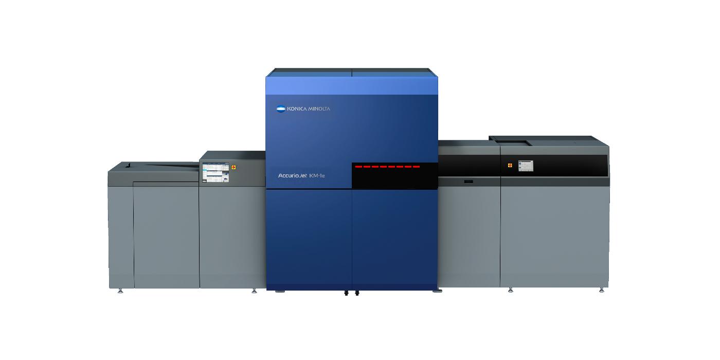 Konica Minolta anuncia la prensa de inyección de tinta UV AccurioJet KM-1e B2 +