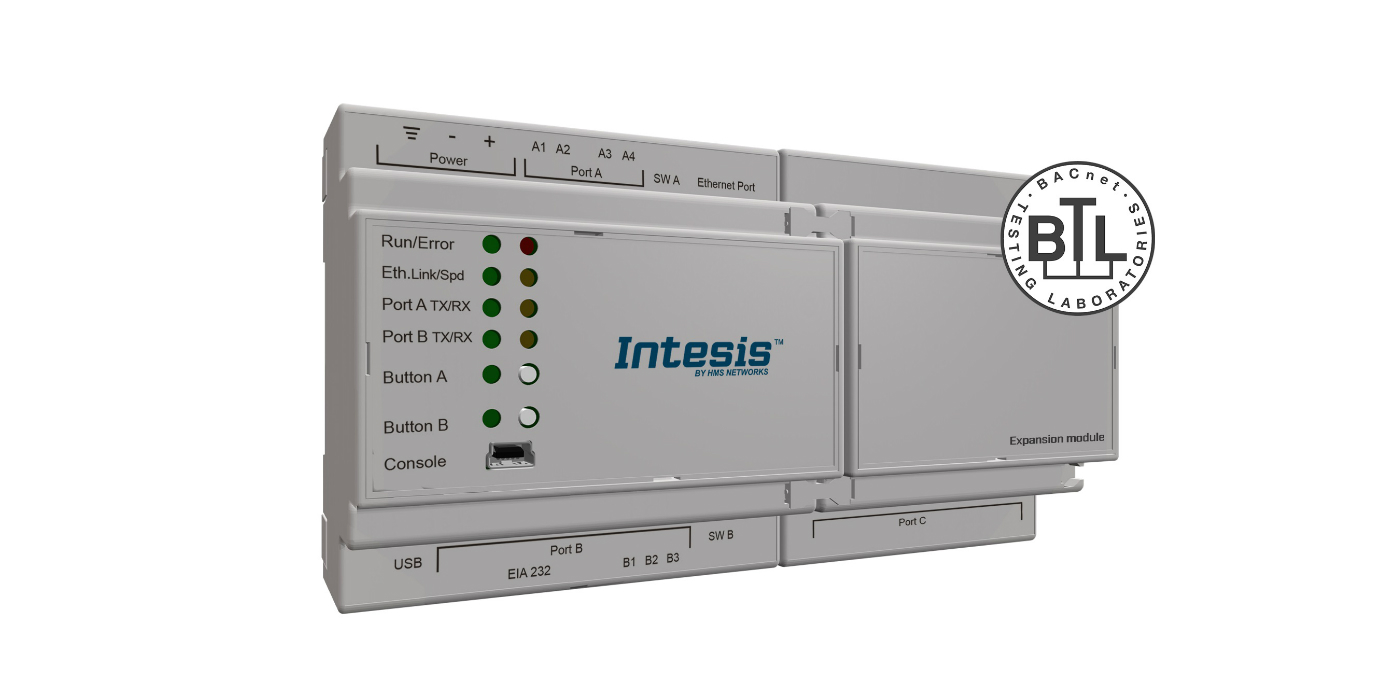 La nueva pasarela Intesis facilita la comunicación entre PROFINET y BACnet