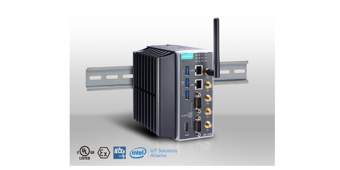 Moxa presenta los robustos ordenadores en el borde de alto rendimiento y ultra compactos para la computación AIoT en entornos extremos