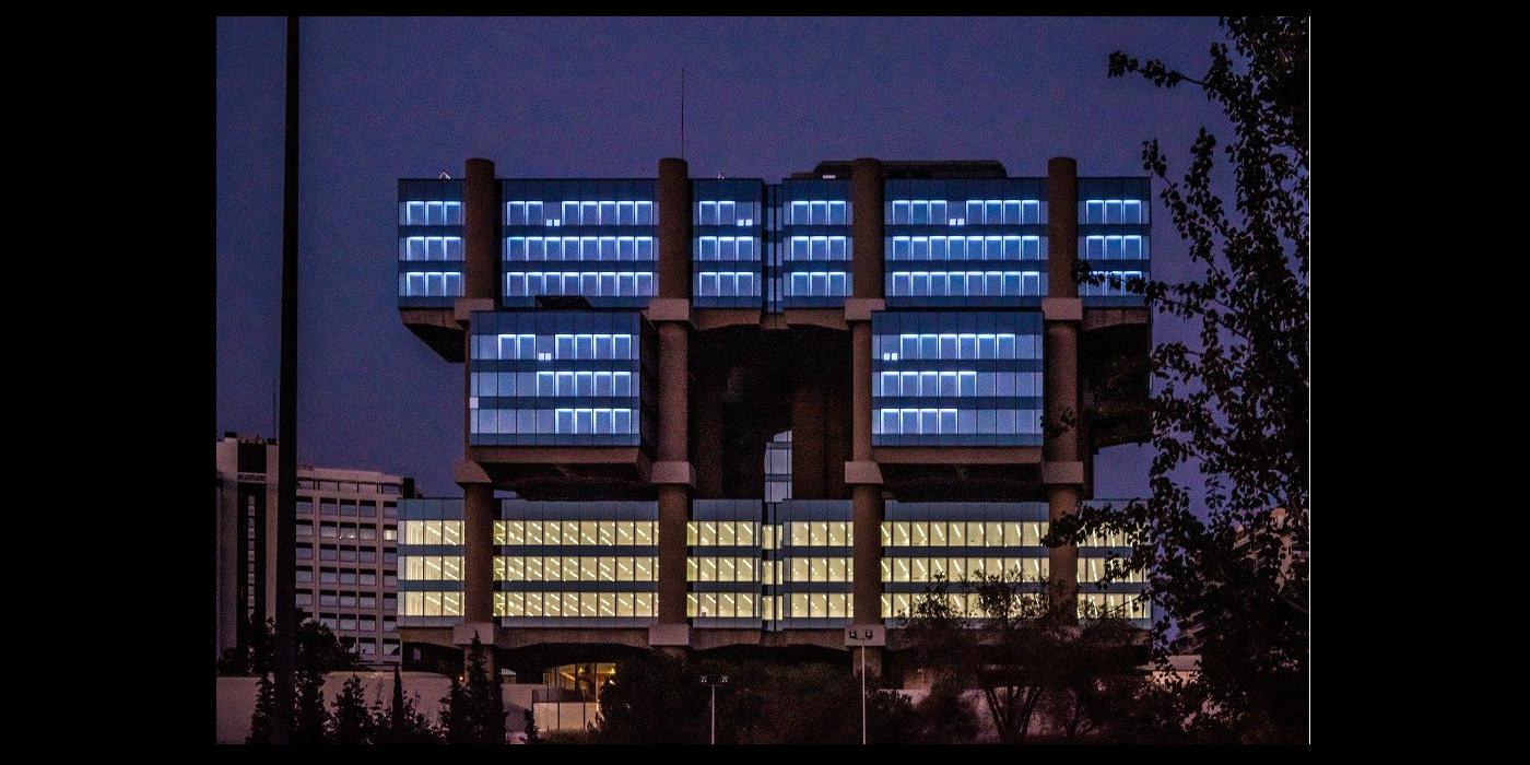 El edificio los CUBOS renace con un proyecto artístico basado en la luz