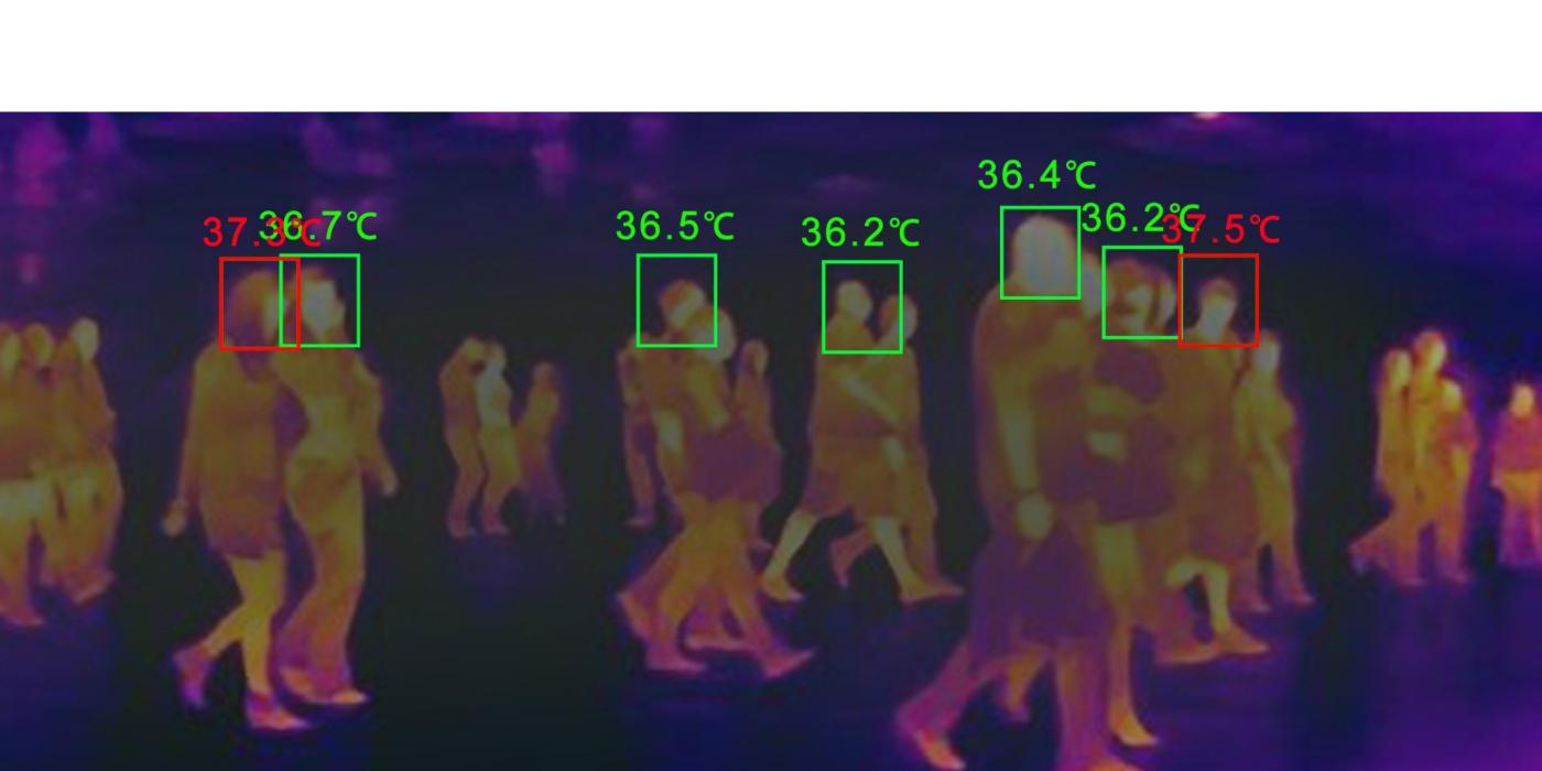 Cámara dual termográfica para lectura de temperatura corporal. Solución Tecnológica Covid 19