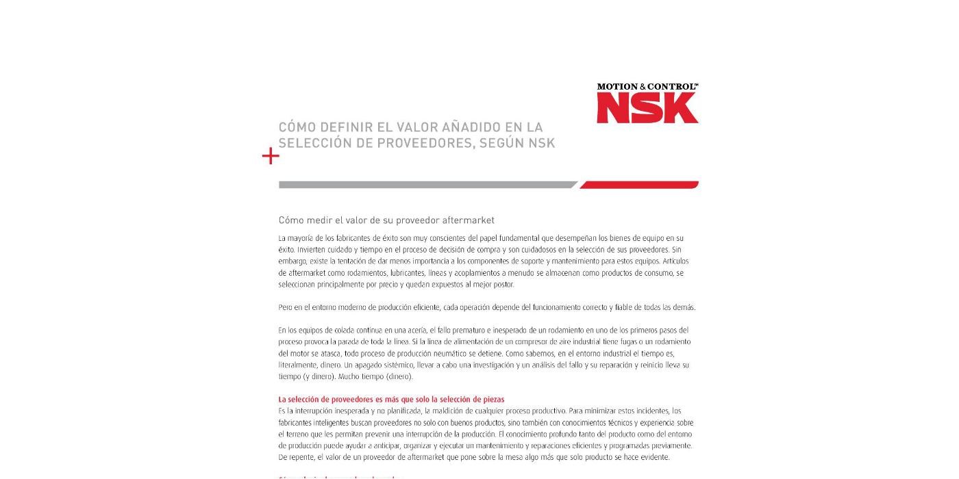 Nuevo documento técnico que describe el valor de los proveedores verificados de piezas de recambio para el Aftermarket